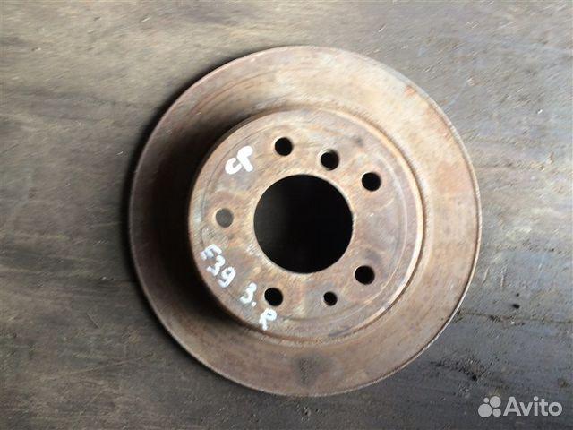 89026196331 Тормозной диск задний правый Bmw 5-Серия E39 1997