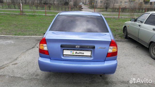 Купить Hyundai Accent пробег 95 200.00 км 2007 год выпуска