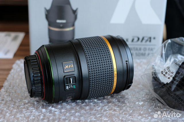 Pentax D FA 50 1.4 SDM AW HD новый, обмен купить 3