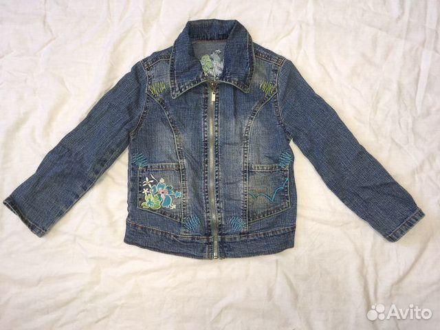Куртка джинсовая для девочки 89674702177 купить 1