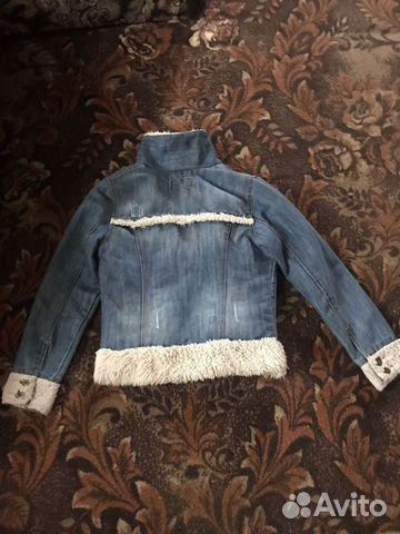 Куртка джинсовая, кардиган и платья купить 3