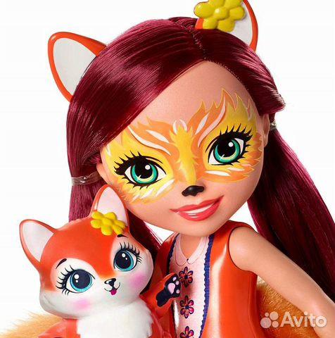 Enchantimals большая Кукла 31см в ассорт  89062132153 купить 8