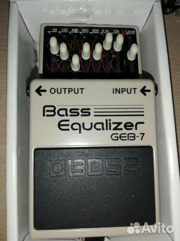Басовый эквалайзер boss GEB-7