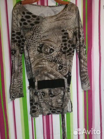 Блуза стрейч 89137216345 купить 2