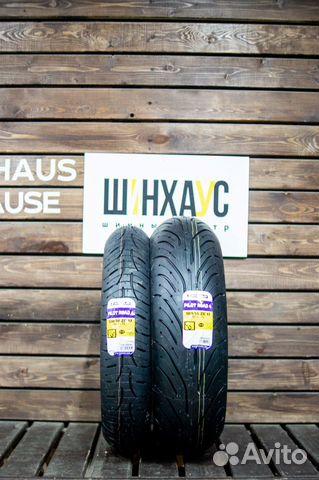 Спарка мото 120/70 и 180/55 Michelin Pilot Road 4