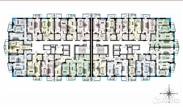 1-к квартира, 39.3 м², 15/26 эт. купить 10