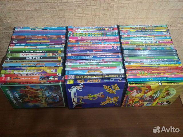 Диски DVD мультфильмы  купить 3
