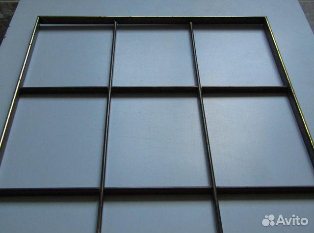 Рама витражная латунная, Витраж мебельный, Лофт  89312358503 купить 2