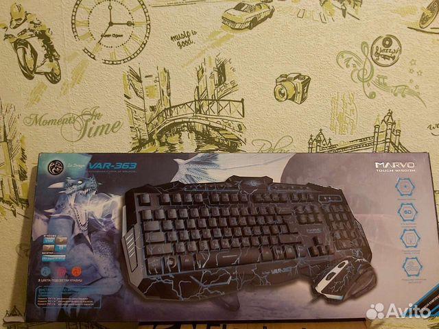 Игровая клавиатура Marvo Var-363  89522903875 купить 5
