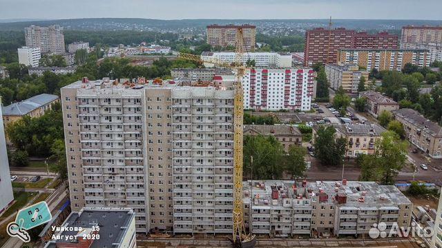 1-room apartment, 42 m2, 16/17 FL.  89024722013 buy 1