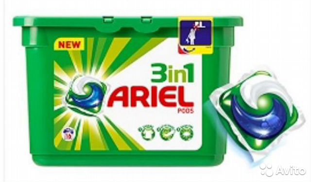 Ariel pods ColorStyle 3 in1 капсулы 27 шт— фотография №1
