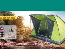 Палатка 3х местная, 220 х 220х h150см