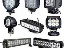 Светодиодные балки-прожекторы, фары рабочего света