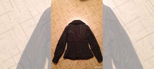8e3ba892a66d Куртка женская Armani Jeans размер (42-44) купить в Самарской области на  Avito — Объявления на сайте Авито
