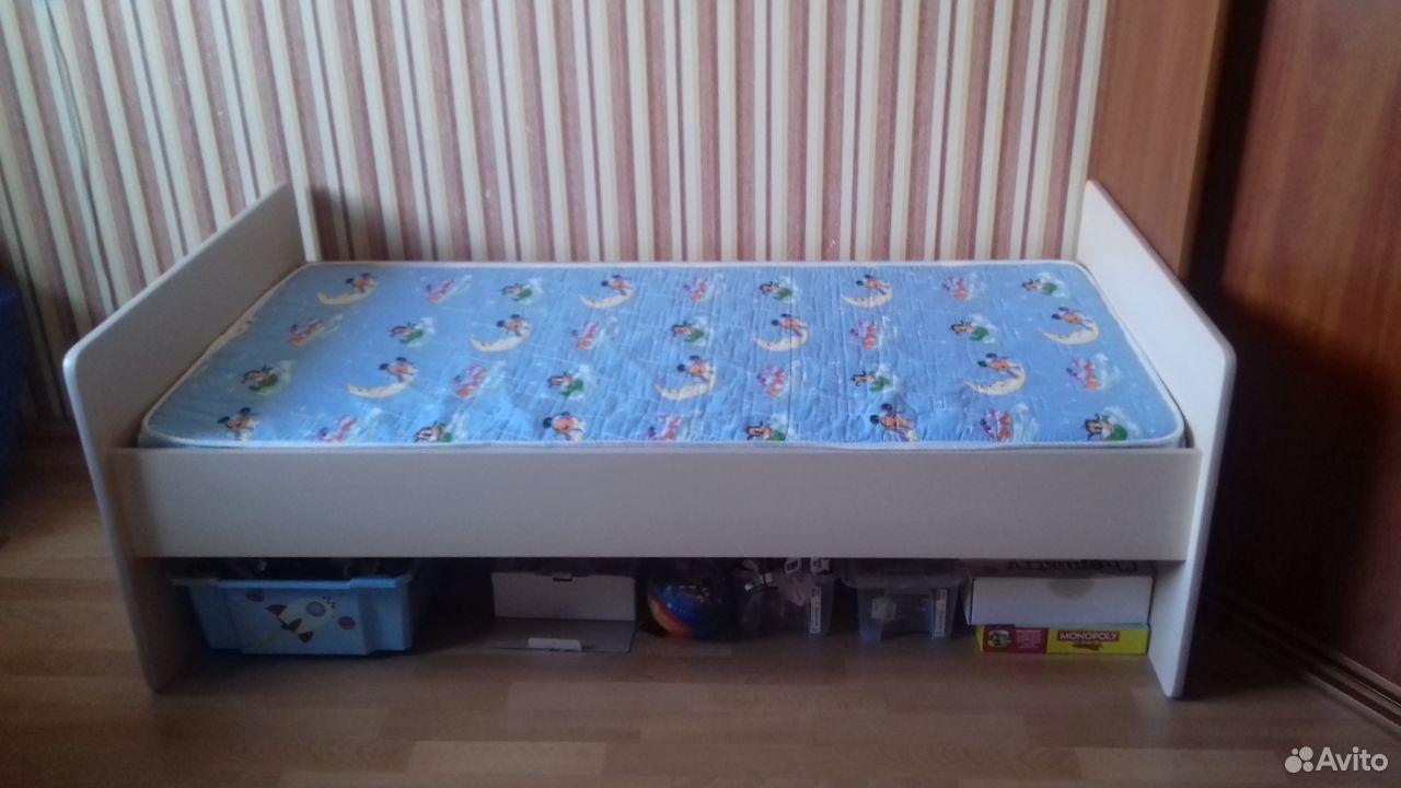 Кровать односпальная с матрасом  89222608879 купить 1