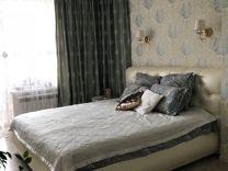 Продам кровать с матрасом и тумбочкой