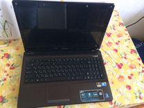 Ноутбук asus K52J в рабочем состоянии