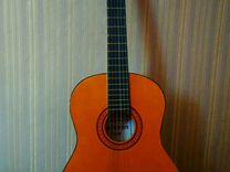 Классическая гитара вместе с чехлом