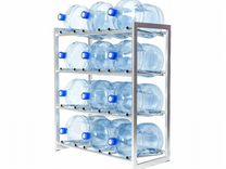 Стеллаж для 12-ти бутылей 19 литров