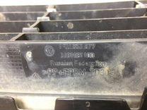 Решетка в бампер центральная Polo Sed 11-18