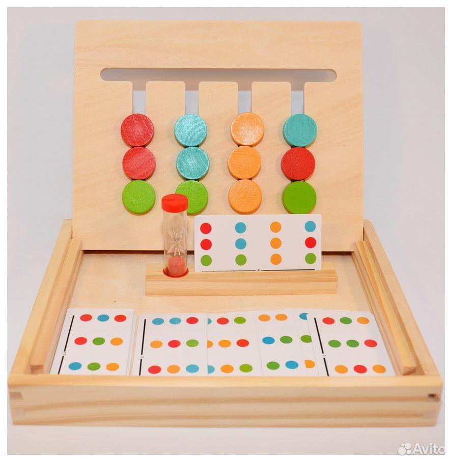 Логическая игра «4 цвета и 4 фигуры»  89603218602 купить 3