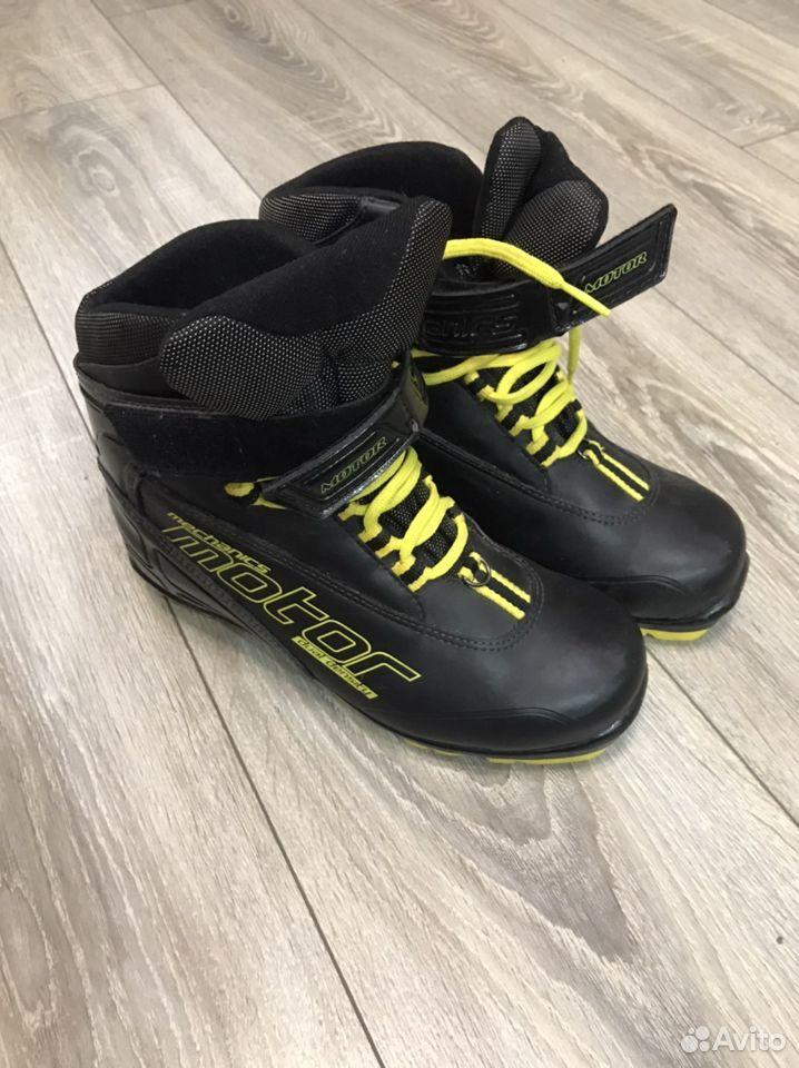 Лыжные ботинки mechanics motor 38 размер  89292779277 купить 1
