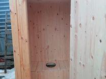 Туалет с отделкой