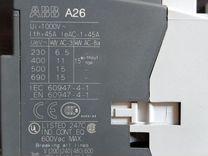 Контактор ABB A26-30-01, A013250, новый