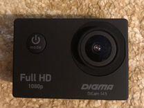 Экшен-камера Digma 145