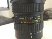Tokina 11-16mm f/2.8 (AT-X 116) Pro DX II Canon