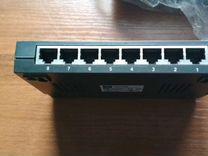 8-ми портовый Switch