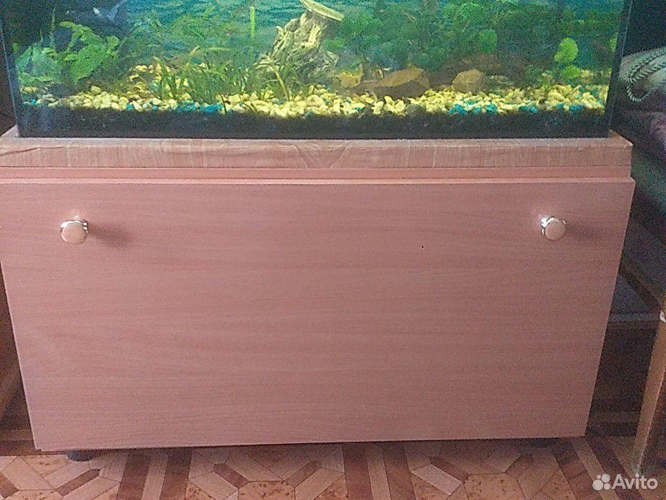 Аквариум с трубочкой и рыбами  89157343592 купить 2