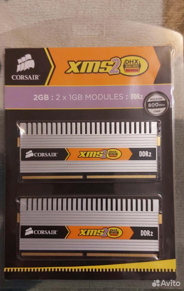 Corsair DDR2 2Gb twin2X2048-6400C4DHX G  89101652659 купить 1