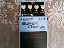 Гитарная педаль Boss Super Chorus CH-1 — Музыкальные инструменты в Геленджике
