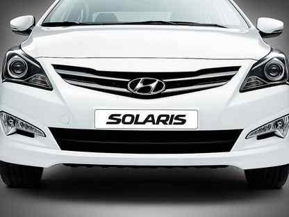 Кузовные Детали Hyundai Solaris в Цвет 2010-2021