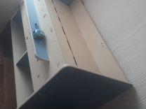 Кровать матрас ящик полки