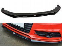 Накладка на бампер Audi A7 C7 S-line (14-18) MD