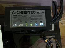 Chieftec 700w с отстегивающимися проводами