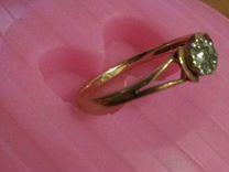 Золотое кольцо с 9-тью бриллиантами