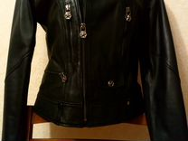 Кожаная куртка Philipp Plein.Турция
