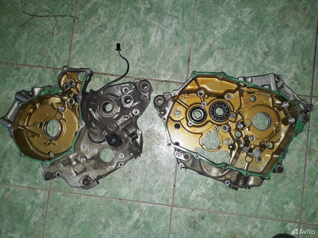 Картер двигателя honda transalp 600  89040859023 купить 2
