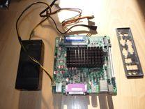 Бесшумный комплект Atom N455 +DDR3 2 Гб + бл.пит