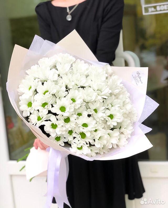 89377906688  Цветы хризантемы Роза букет Самара доставка цветов