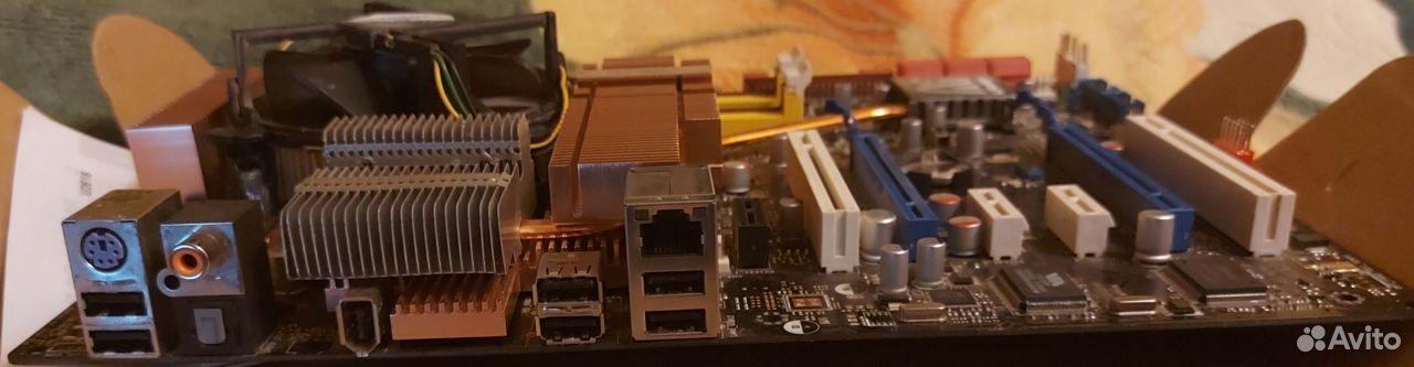 Asus P5E Deluxe Socket LGA775 Полный комплект  89101652659 купить 3