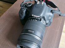 Фотоаппарат Canon 600D с объективом 18-135мм
