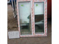 Окно Пластиковое 1400 (в) х 1100 (ш) новое №Н178
