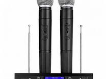 Микрофоны Беспроводные, до 100 метров. Магазин
