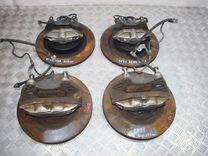 Комплект тормозов Nissan Akebono 4Pot+2Pot