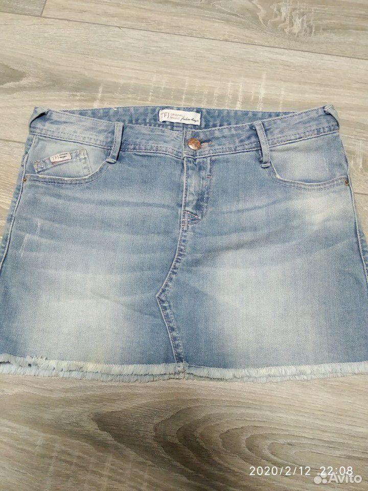 Джинсовая юбка 89788758048 купить 1