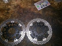 Kawasaki z750 er6 xz6r торомзные диски